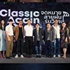 Gee Sutthirak Subvijitra, Ranchrawee Uakoolwarawat, and Thitipoom Techaapaikhun at an event for Classic Again (2020)