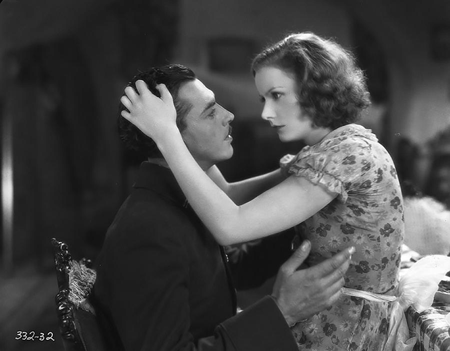 Greta Garbo and Lars Hanson in The Divine Woman (1928)