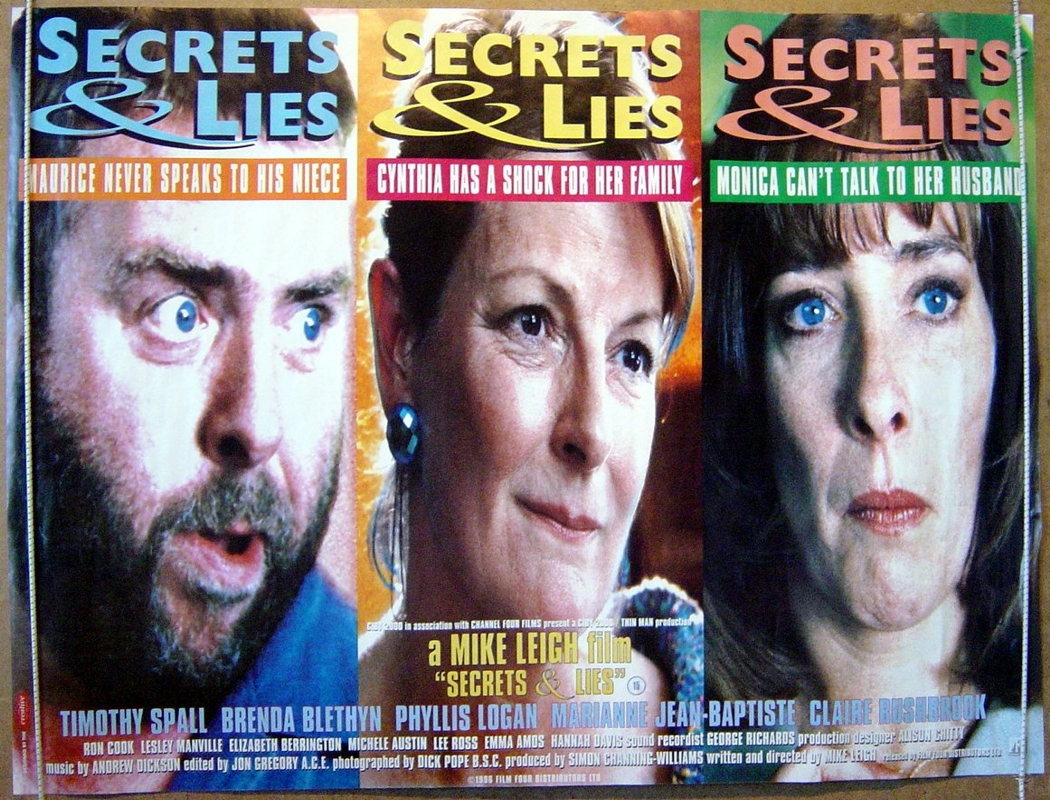 Brenda Blethyn, Timothy Spall, and Phyllis Logan in Secrets & Lies (1996)