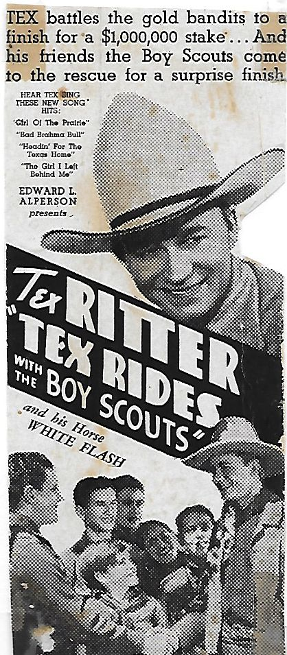 Tommy Bupp and Tex Ritter in Tex Rides with the Boy Scouts (1937)