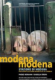 Modena Modena stazione di Modena, per Carpi Suzzara Mantova si cambia Poster