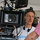 Director John Asher on the set of Po.