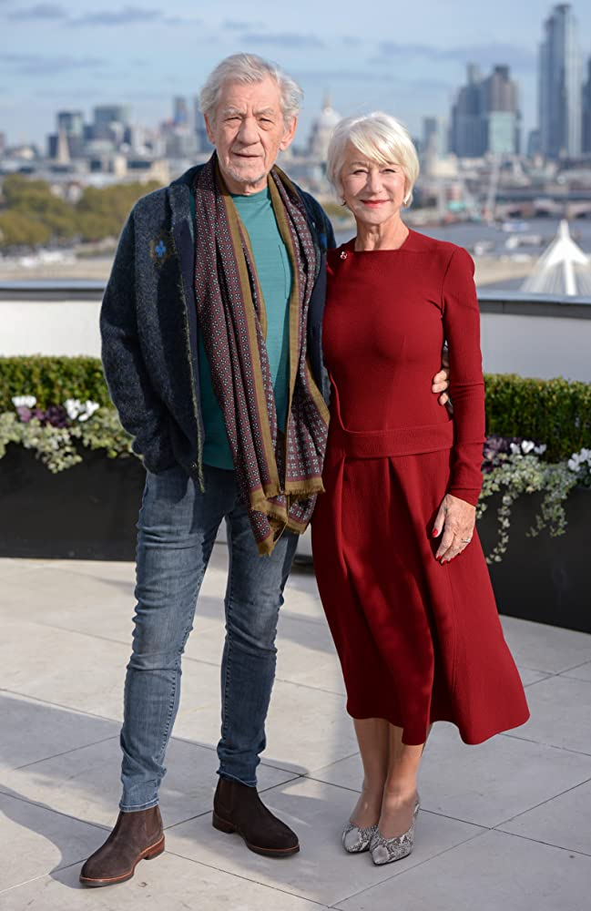 Helen Mirren and Ian McKellen at an event for The Good Liar (2019)