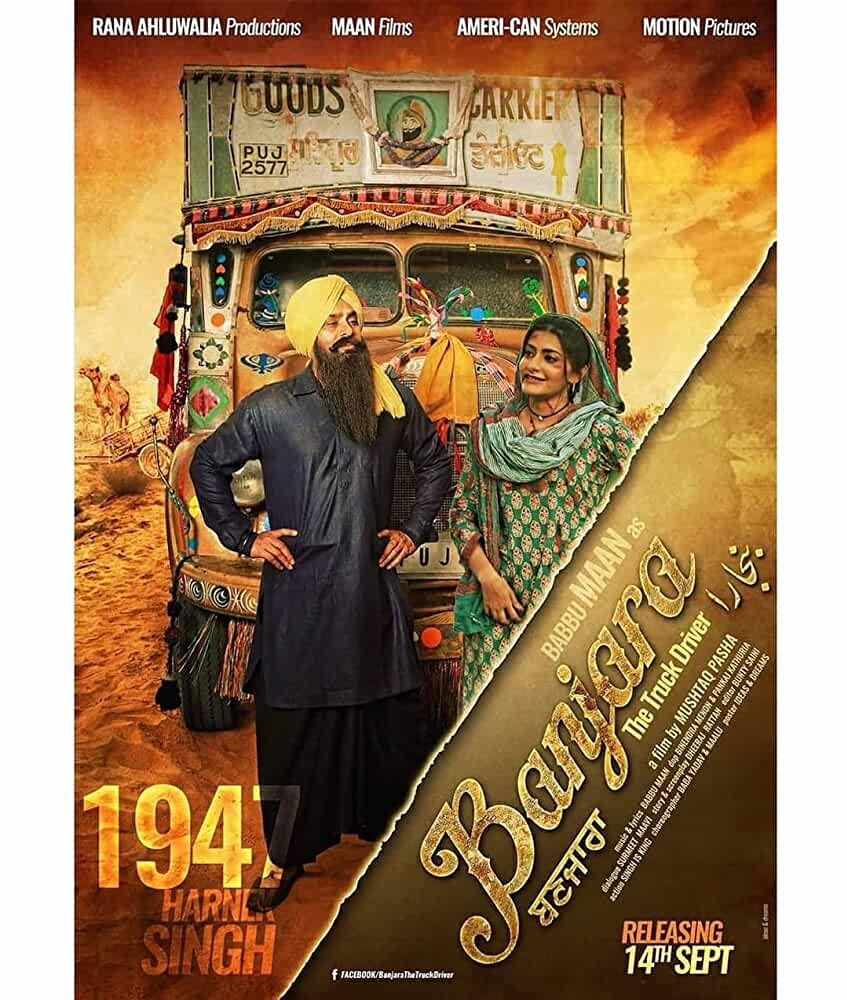 Banjara The Truck Driver (2018) Punjabi 400MB pDVDRip Download