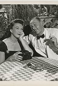 Jerome Cowan and Ginny Simms in Disc Jockey (1951)