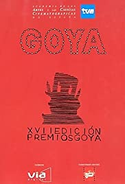 XVII premios Goya Poster