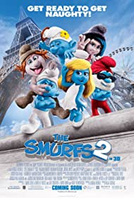 Christina Ricci, Jonathan Winters, George Lopez, John Oliver, J.B. Smoove, and Katy Perry in The Smurfs 2 (2013)