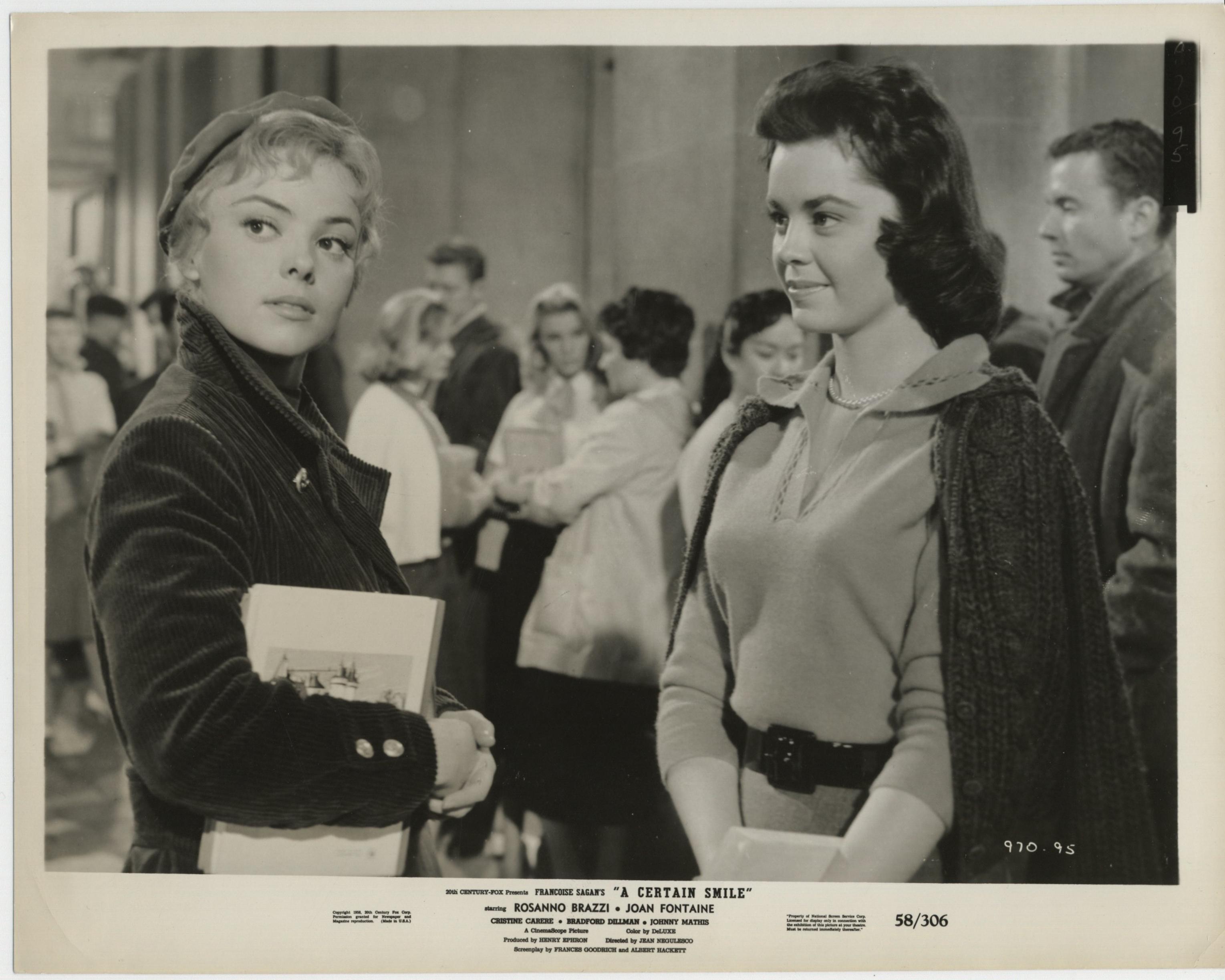 Christine Carère in A Certain Smile (1958)