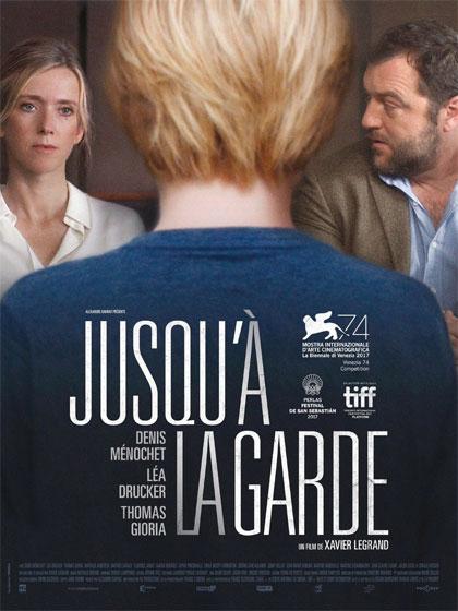 Léa Drucker and Denis Ménochet in Jusqu'à la garde (2017)