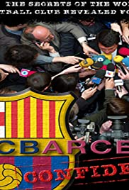 FC Barcelona Confidential Poster