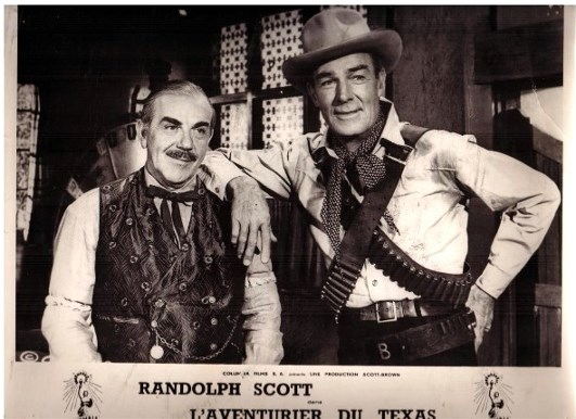 Randolph Scott in Buchanan Rides Alone (1958)