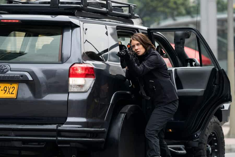 Lauren Cohan in Mile 22 (2018)