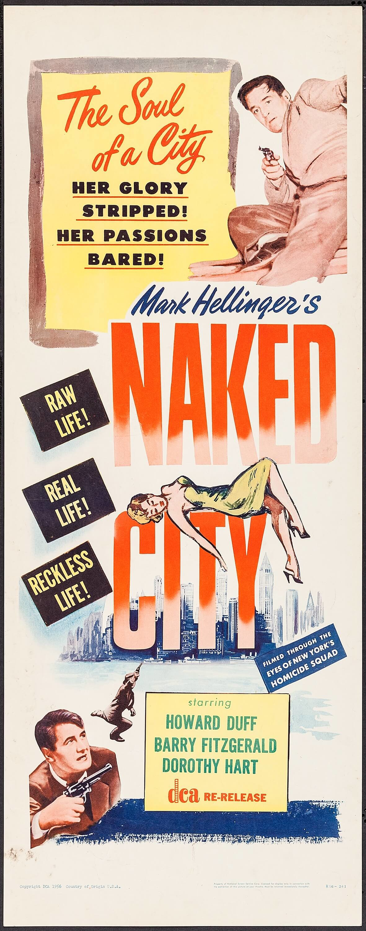 Howard Duff in The Naked City (1948)