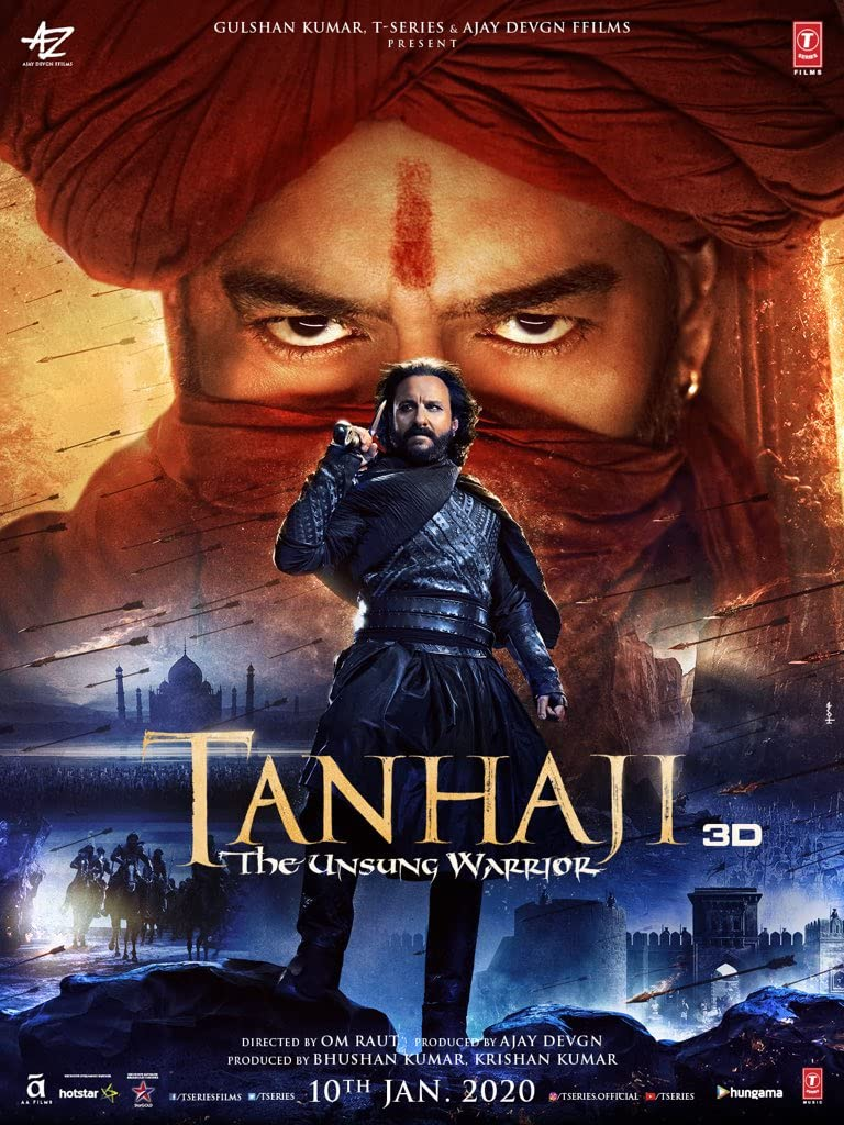 Tanhaji: The Unsung Warrior (2020) centmovies.xyz