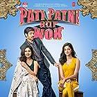 Kartik Aaryan, Bhumi Pednekar, and Ananya Panday in Pati Patni Aur Woh (2019)