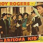 Roy Rogers, Art Dillard, Stuart Hamblen, George 'Gabby' Hayes, Dorothy Sebastian, and Archie Twitchell in The Arizona Kid (1939)