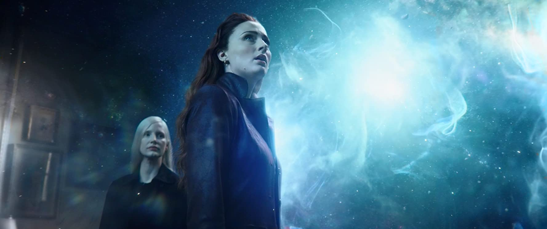 Jessica Chastain and Sophie Turner in Dark Phoenix (2019)