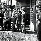 William Demarest, Leo Gordon, and John McIntire in The Yellow Mountain (1954)