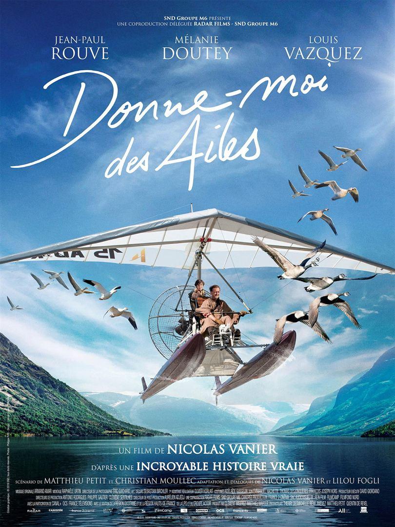 Jean-Paul Rouve and Louis Vazquez in Donne-moi des ailes (2019)