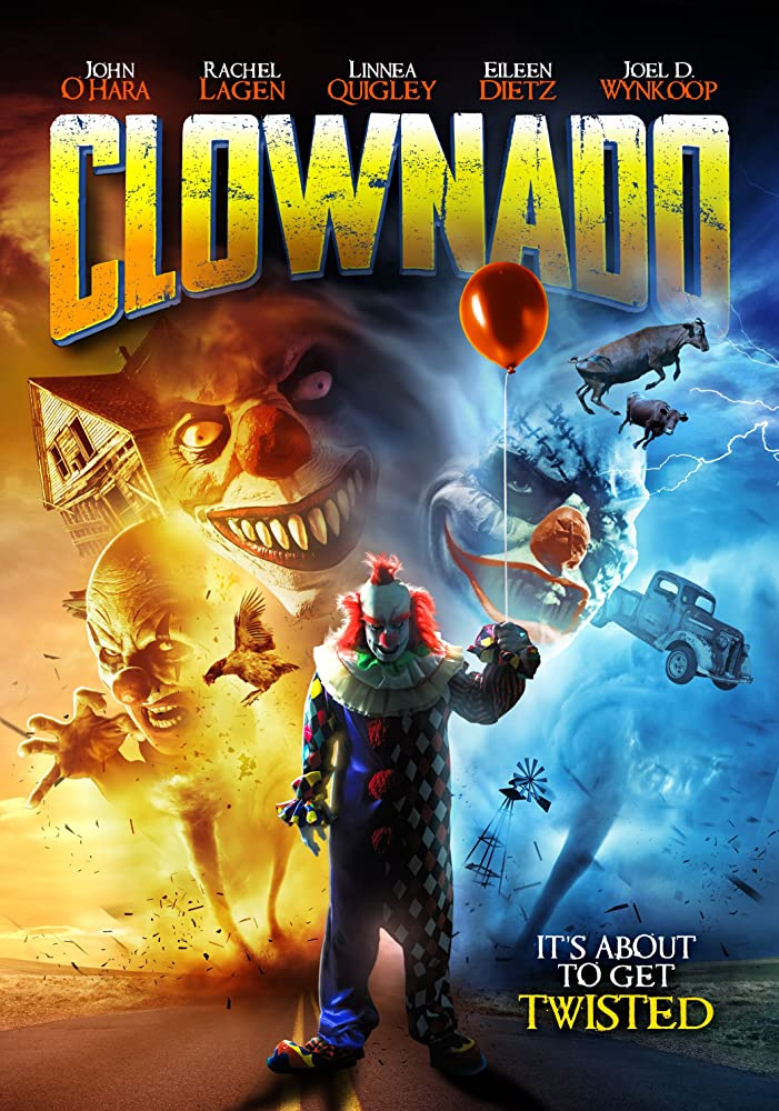 Clownado 2019 English 720p HDRip 800MB ESubs