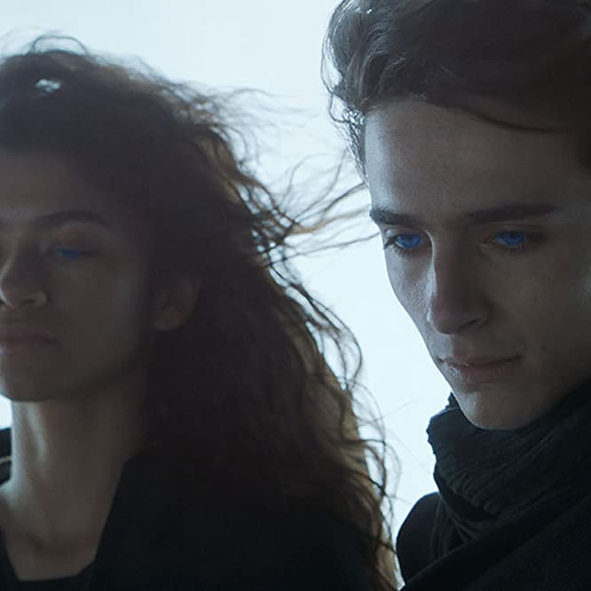 Timothée Chalamet and Zendaya in Dune (2021)
