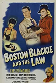 Boston Blackie and the Law Poster