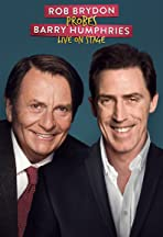 Rob Brydon Probes Barry Humphries Live on Stage