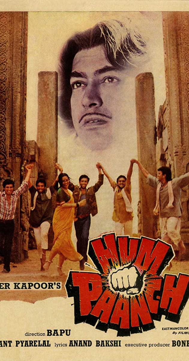 Hum Paanch 1980 Hum Paanch 1980 User Reviews Imdb