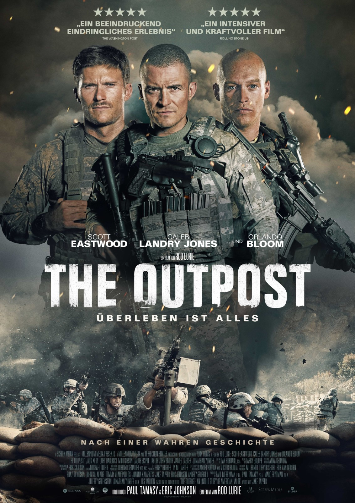 The Outpost (2020) Hindi Dubbed HQ HDRip x264 AAC 450MB Download