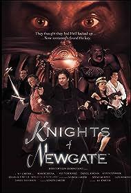 Robert Reina, Charlie Alvin, Vee Vimolmal, Christopher Fenwick, Iain Hoskins, Daniel Jordan, Lara Dorée, and Steve Murphy in Knights of Newgate (2021)