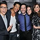 """Cast of """"Crush The Skull"""" attend the LA Film Fest Premiere. Chris Dinh, Tim Chiou, Chris Riedell, Katie Savoy and Lauren Reeder"""
