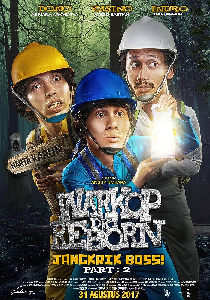 Poster film Warkop DKI Reborn: Jangkrik Boss Part 2 (2017)