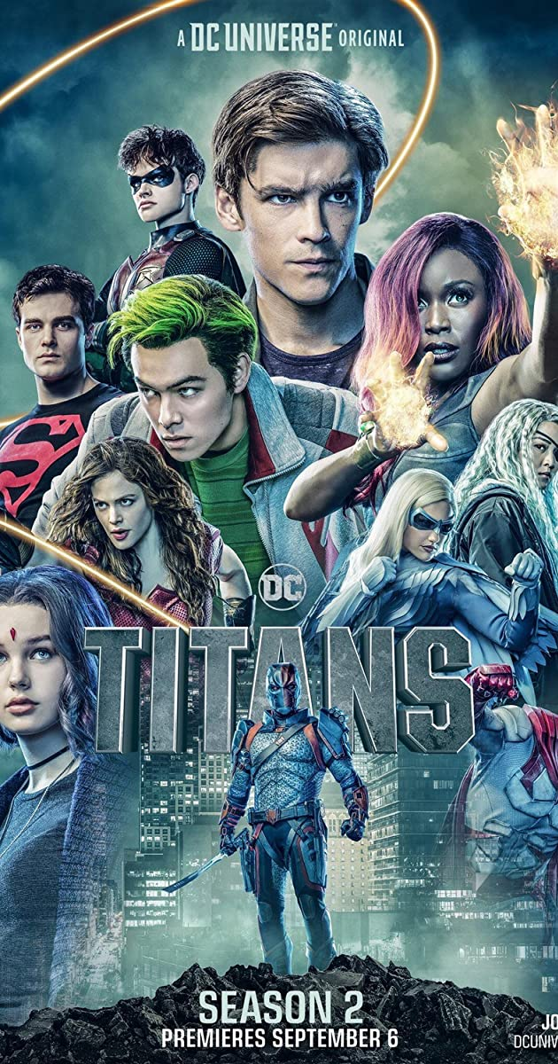 Download Titans or watch streaming online complete episodes of  Season 2 in HD 720p 1080p using torrent