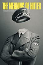 The Meaning of Hitler (2020) Poster