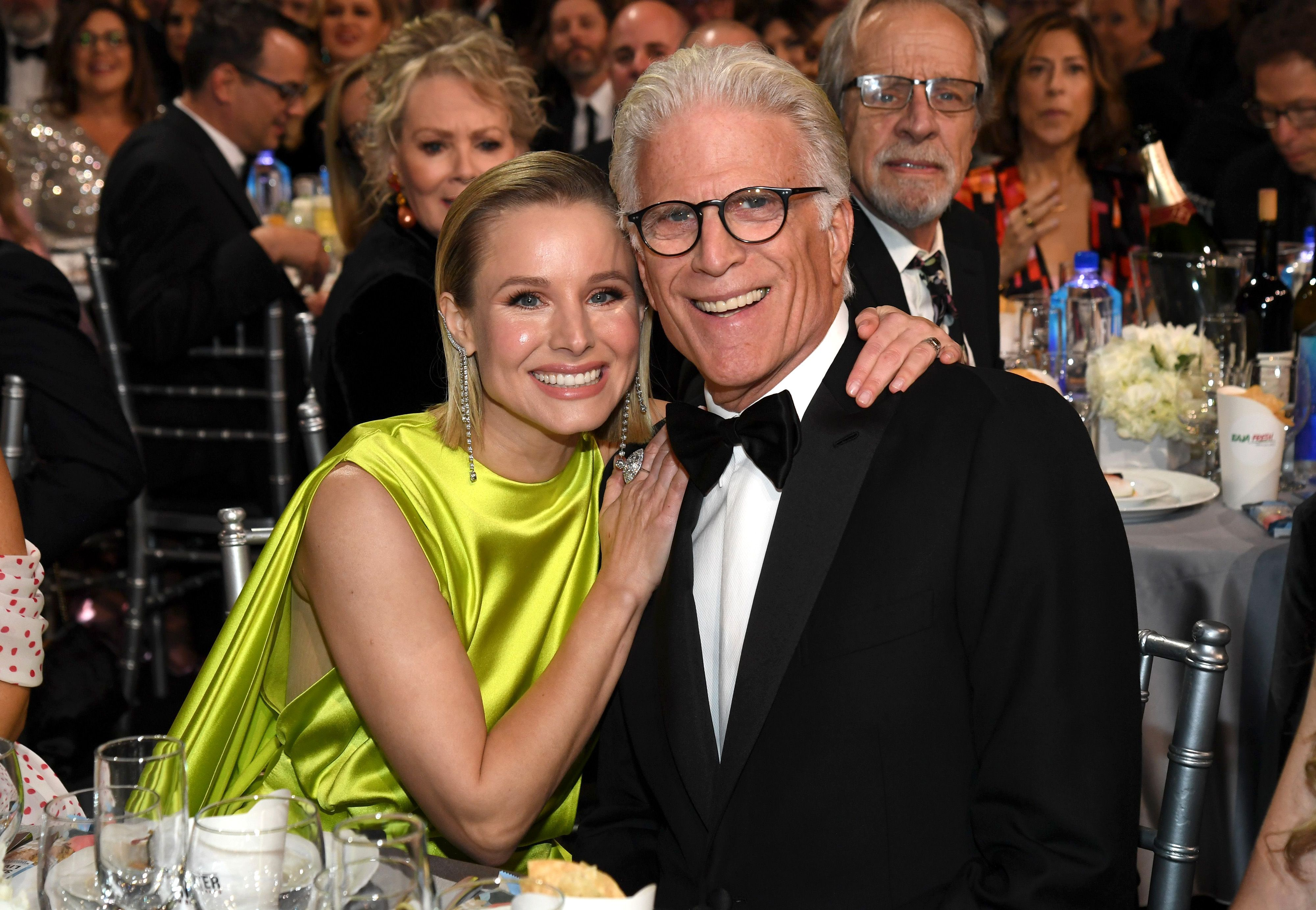 Ted Danson and Kristen Bell