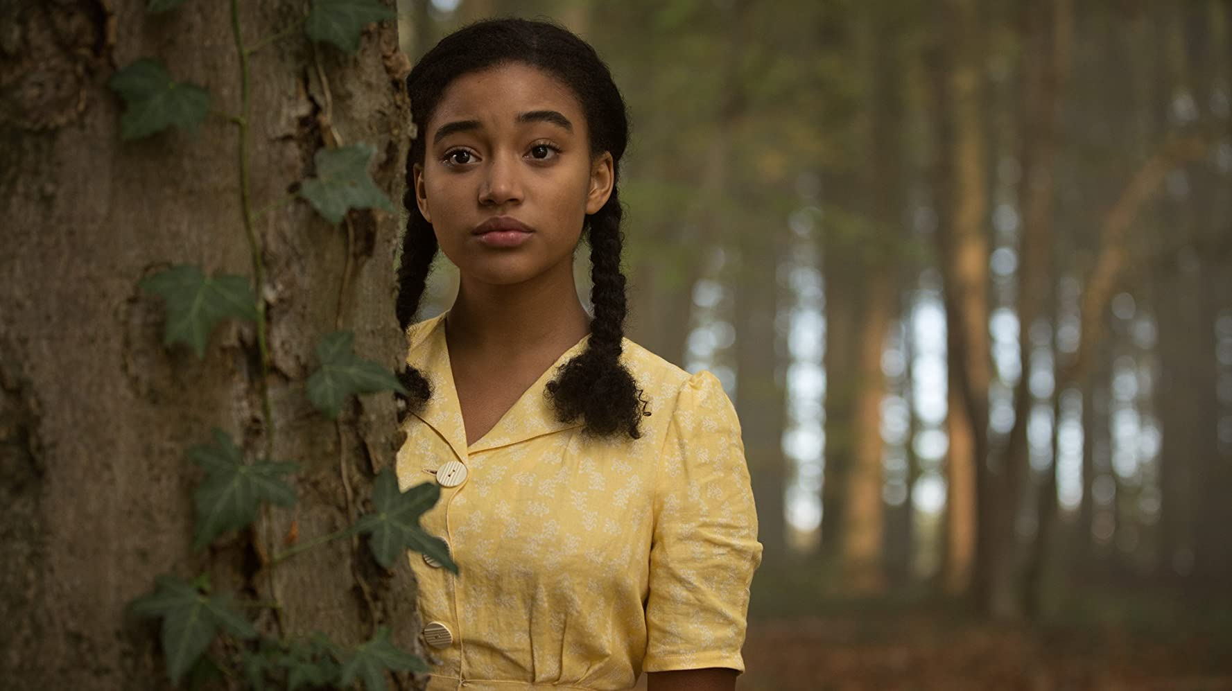 Amandla Stenberg in Where Hands Touch (2018)