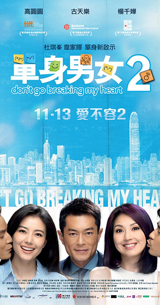 Subtitle of Don't Go Breaking My Heart 2