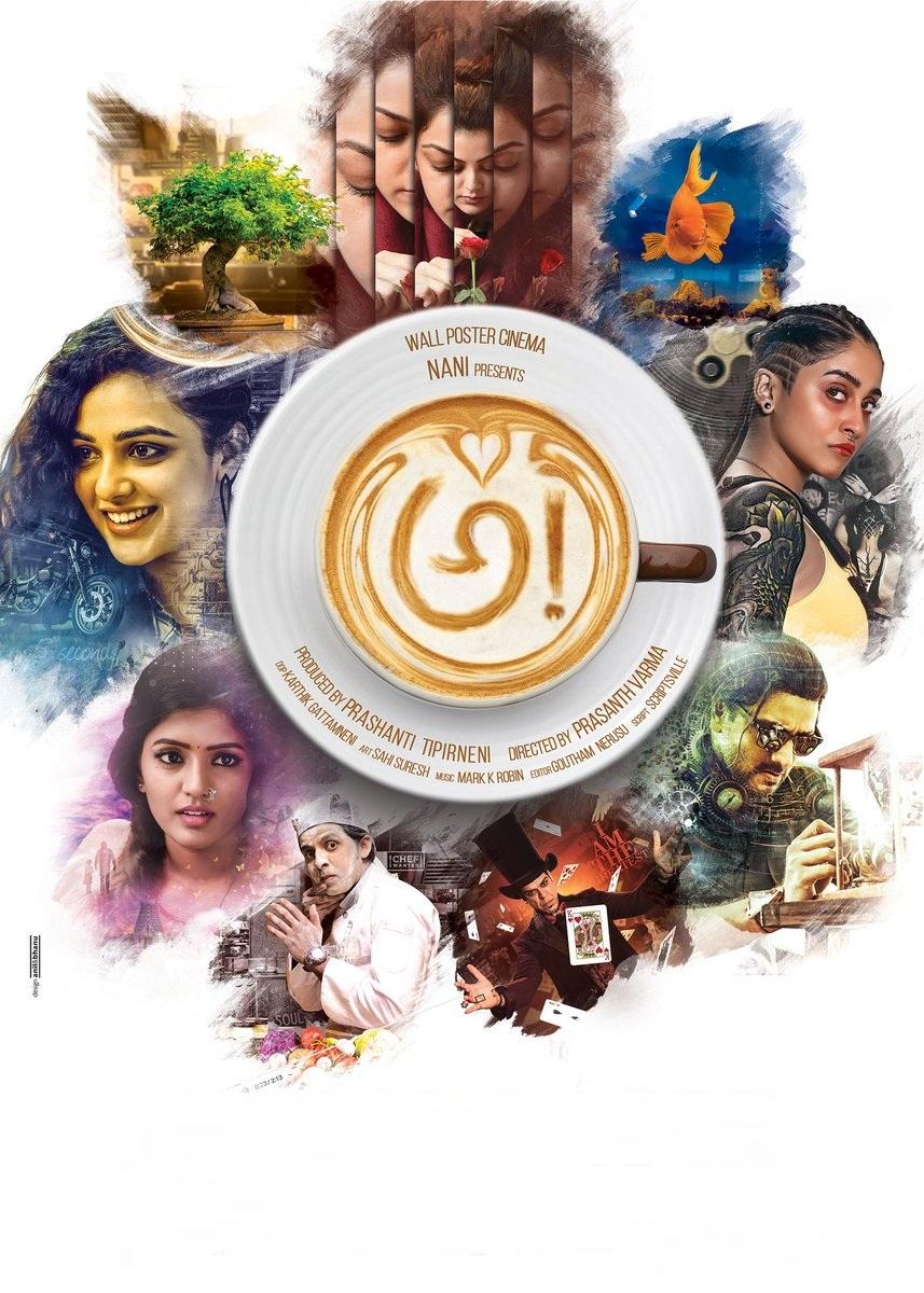 Ravi Teja, Murli Sharma, Kajal Aggarwal, Nithya Menon, Nani, Srinivas Avasarala, Regina Cassandra, Eesha Rebba, and Priyadarshi in Awe! (2018)