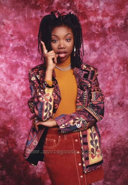 Brandy Norwood in Moesha (1996)