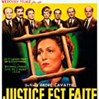 Claude Nollier and Noël Roquevert in Justice est faite (1950)