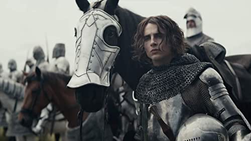 Hal (Timothée Chalamet), wayward prince and reluctant heir to the English throne, has turned his back on royal life and is living among the people. But when his tyrannical father dies, Hal is crowned King Henry V and is forced to embrace the life he had previously tried to escape. Now the young king must navigate the palace politics, chaos and war his father left behind, and the emotional strings of his past life - including his relationship with his closest friend and mentor, the aging alcoholic knight, John Falstaff (Joel Edgerton). Directed by David Michôd and co-written by Michôd and Edgerton, THE KING co-stars Sean Harris, Ben Mendelsohn, Robert Pattinson, and Lily-Rose Depp.