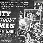 Linda Darnell, Leslie Brooks, Edgar Buchanan, William B. Davidson, Michael Duane, Doris Dudley, Glenda Farrell, and William Gould in City Without Men (1943)