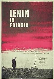 Lenin v Polshe Poster