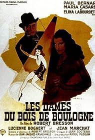 Paul Bernard, María Casares, and Elina Labourdette in Les dames du Bois de Boulogne (1945)