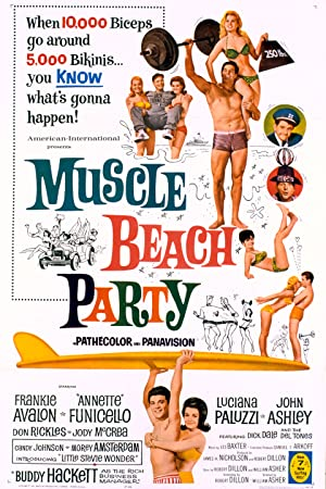 Where to stream Muscle Beach Party