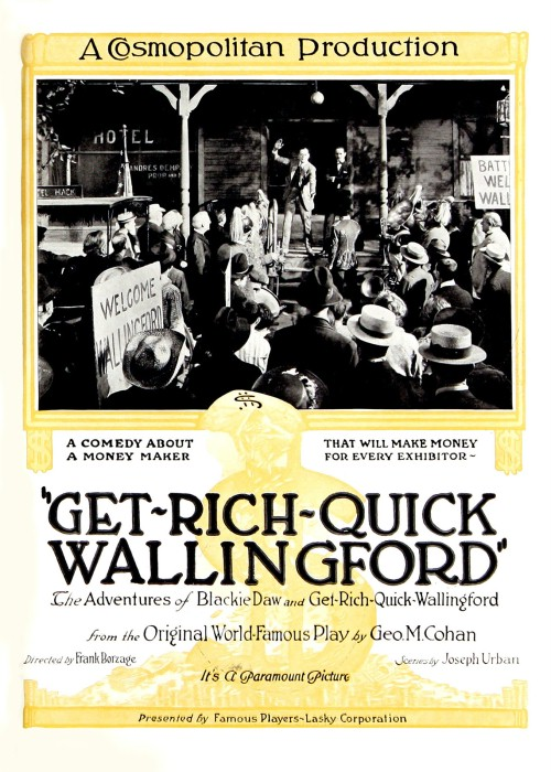 Sam Hardy, William T. Hayes, Horace James, Doris Kenyon, Norman Kerry, and Edgar Nelson in Get-Rich-Quick Wallingford (1921)