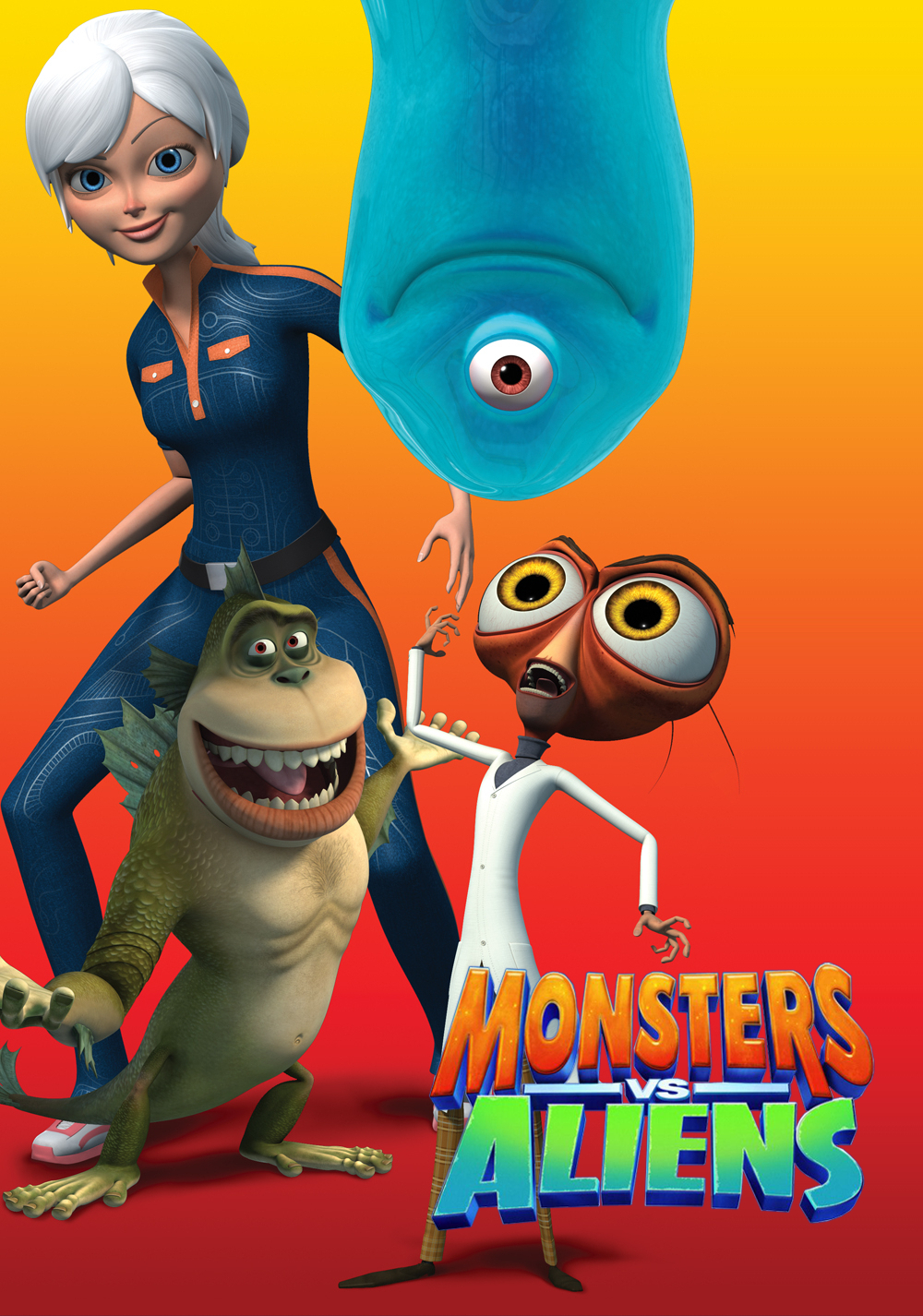 For that Monsters vs aliens accept. interesting