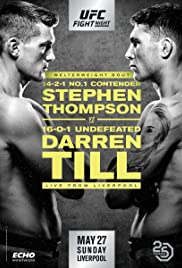 UFC Fight Night: Thompson vs. Till Poster