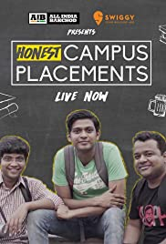 AIB: Honest Engineering Campus Placements Poster - TV Show Forum, Cast, Reviews