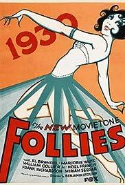 New Movietone Follies of 1930 Poster